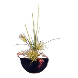 Tillandsia in Gunmetal Gray Ceramic Container - About VickermanThis product is proudly made by Vickerman, a leader in high quality holiday decor. Founded in 1940, the Vickerman Company has established itself as an innovative company dedicated to exceeding the expectations of their customers. With a wide variety of remarkably realistic looking foliage, greenery and beautiful trees, Vickerman is a name you can trust for helping you create beloved holiday memories year after year.