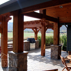 Traditional Gazebos by Western Timber Frame