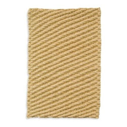 Merida Meridan Inc. - Alegria 2-Foot x 3-Foot Accent Rug - This natural fiber rug has a boldly textured design to add a bit of sophistication to your living space. Hand-woven rug is reversible.