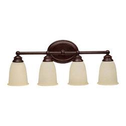 Capital Lighting - Capital Lighting 1084-130 4 Light Vanity Fixture - Capital Lighting 4 Light Vanity Fixture