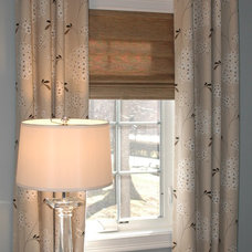Traditional Window Treatments by Lisa Scheff Designs