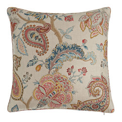 """Legacy Home - Faux Bois Velvet Accent Pillow 18""""Sq. - MIDNIGHT (18"""") - SFERRAFaux Bois Velvet Accent Pillow 18""""Sq.DetailsBy Sferra.Select color when ordering.Acrylic/cotton/viscose with hidden zipper and variegated-color fringe.Feather/down insert.18""""Sq.Dry clean.Made in Italy.Designer About Sferra:The story of Sferra begins at the turn of the 19th century when Gennaro Sferra left Italy for the United States in the hopes of finding a market among the Atlantic Coast for his intricate Venetian lace cuffs and collars. By 1912 he and his family had opened up shop on famed Fifth Avenue in New York City. A generation later Gennaro's two sons expanded their family's collection to include the most luxurious European linens of the day from renowned double damask from Ireland to Alençon laces from France to elaborate embroideries from Belgium and Switzerland. In 1977 the ownership of Sferra was sold by the family to Paul Hooker under whose keen business savvy and passionate stewardship this classic brand has flourished over the years. With the aid of great advancements in design and production techniques Sferra has secured its rightful position as a leader in the luxury linens industry. Above all the secret to the enduring reputation of the Sferra brand is the same now as it was a century ago only the finest materials are used in any product bearing the Sferra name."""