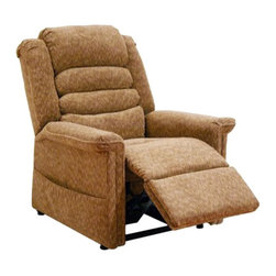 "Catnapper - Catnapper Soother Power Lift Full Lay-Out Chaise Recliner Chair in Autumn - Catnapper - Recliners - 4825180036 - This Soother ""Power Lift"" Full Lay-Out Chaise Recliner by Catnapper combines great style, incredible comfort and functionality. This recliner features comfortable waterfall back and plush chaise seating. It is upholstered in luxurious chenille fabric available in autumn, vino, galaxy, and woodland. With its steel seat box it provides 350 Lb. weight capacity. Additionally, this power lift recliner features deluxe massage with heat and is provided with remote control and magazine pocket. Kick off your shoes and enjoy!"