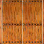 "Knotty Alder Front Prehung Double Door with Two Sidelites - SKU#SW-65-53_2-2BrandAAWDoor TypeExteriorManufacturer CollectionWestern-Santa Fe Entry DoorsDoor ModelDoor MaterialWoodWoodgrainKnotty AlderVeneerPrice3982.4Door Size Options2(30"")+2(18"") x 80"" (8'-0"" x 6'-8"")  $02(32"")+2(18"") x 80"" (8'-4"" x 6'-8"")  $02(36"")+2(18"") x 80"" (9'-0"" x 6'-8"")  +$402(42"")+2(18"") x 80"" (10'-0"" x 6'-8"")  +$2402(30"")+2(18"") x 96"" (8'-0"" x 8'-0"")  +$914.42(32"")+2(18"") x 96"" (8'-4"" x 8'-0"")  +$914.42(36"")+2(18"") x 96"" (9'-0"" x 8'-0"")  +$954.42(42"")+2(18"") x 96"" (10'-0"" x 8'-0"")  +$1354.4Core TypeSolidDoor StyleRusticDoor Lite StyleDoor Panel StyleHome Style MatchingSouthwest , Log , Pueblo , WesternDoor ConstructionTrue Stile and RailPrehanging OptionsPrehungPrehung ConfigurationDouble Door with Two SidelitesDoor Thickness (Inches)1.75Glass Thickness (Inches)Glass TypeGlass CamingGlass FeaturesGlass StyleGlass TextureGlass ObscurityDoor FeaturesDoor ApprovalsDoor FinishesDoor AccessoriesClavosWeight (lbs)1190Crating Size25"" (w)x 108"" (l)x 52"" (h)Lead TimeSlab Doors: 7 daysPrehung:14 daysPrefinished, PreHung:21 daysWarranty1 Year Limited Manufacturer WarrantyHere you can download warranty PDF document."