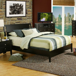Alpine Furniture - Alpine Furniture Vista Low Footboard Sleigh Bed - Dark Espresso - SV-08 F - Shop for Beds from Hayneedle.com! Bring your bed set up to date with the Alpine Furniture Vista Low Footboard Sleigh Bed - Dark Espresso and its refined contemporary style. This sleigh bed is finished in a dark espresso and will suit your needs with a choice of available sizes.Size Options:Full/Double: 56.5W x 81D x 44.25H in.Queen: 63.25W x 86.5D x 44.25H in.King: 75.75W x 91.75D x 44.25H in.California King: 79.5W x 86.5D x 44.25H in.About Alpine CorporationAlpine Corporation has offices in Arizona Colorado Florida Iowa and Ohio. With a firm belief in the free enterprise system Alpine Corporation promotes equal treatment for customers employees shareholders suppliers and the community. Alpine Corporation carries a vast array of items including fountains pond and garden accessories and statuary and carries lighting and parts as well. A steadfast goal for Alpine Corporation is to continually exceed their customers' increasing expectations.