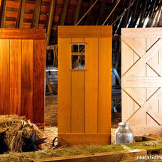 Rustic Interior Doors by Real Sliding Hardware