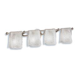 "Kichler - Kichler 6314NI Drapes 35"" Wide 4-Bulb Bathroom Lighting Fixture - Product Features:"