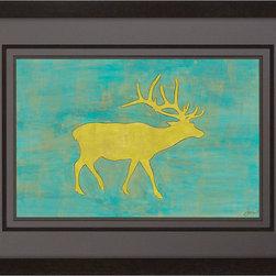 Paragon Decor - Deer Artwork - Exclusive Hand Painted on Fine Art Paper