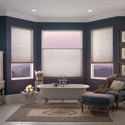 Light-Filtering Cellular Shades - Single Cell Honeycomb Light-FIltering Shades by Shades Shutters Blinds: Starting at $59.11