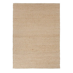 """Jaipur - Natural Fiber Andes 3'6""""x5'6"""" Rectangle Stone-Stone Area Rug - The Andes area rug Collection offers an affordable assortment of Natural Fiber stylings. Andes features a blend of natural Stone-Stone color. Flat Weave of 80% Jute 20% Cotton the Andes Collection is an intriguing compliment to any decor."""