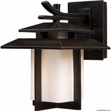 Asian Outdoor Wall Lights And Sconces by Elite Fixtures