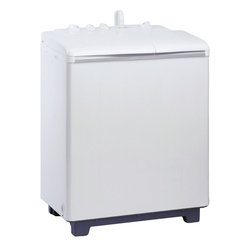 Danby - Twin Tub Washer - 10lb Capacity - Danby's DTT100A1WDB Twin Tub Washer is perfectly sized for apartment dwellers and small households. With the ability to wash up to 9.9 lbs of clothing, this energy efficient machine features a full-length agitator and a 1400 RPM spin cycle. The quick connect attachment fits most standard faucets so there's no need for direct plumbing and the Built-in castors ensure easy portability. Also featured is a safety lid which when opened, halts the machine. Plus, the overflow protection ensures water stays where it should.
