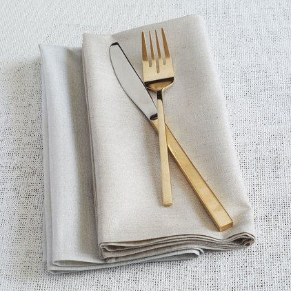 Contemporary Napkins by West Elm