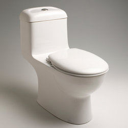 Bathroom Design: Caroma Toilets - Caravelle One Piece Round Front Plus