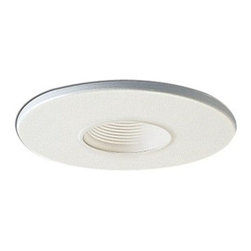 "Nora Lighting - Nora NL-421 4"" White Trim with 2"" Pinhole and White Baffle - 4"" White Trim with 2"" Pinhole and White Baffle"