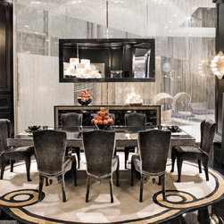 Visionnaire Collection - Visionnaire collection of modern Italian designer furniture from IPE Cavalli. These luxury pieces combine fashion with furniture. Luxury interiors and accessories for exclusive homes, hotels & executive offices. Exclusive Italian furniture. 100% Made in Italy.