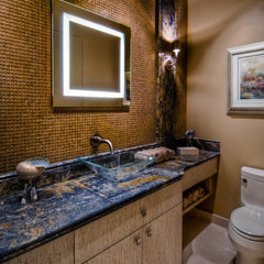 contemporary bathroom by Dean J.Birinyi
