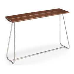 Coffee Shop Bar Table - You know those quaint city cafés that always have so much charm? Now, bring that cool, rustic quality to your cocktail party with this big city table.