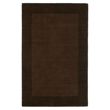 """Kaleen - Kaleen Regency Regency (Brown) 5' x 7'9"""" Rug - Regency offers an array of fourteen beautifully elegant subtle tones for today's casual lifestyles. Choose from rich timeless hues shaded with evidence of light brush strokes. These 100% virgin wool, hand loomed rugs are sure to add comfort and warmth to any setting. Hand crafted in India."""