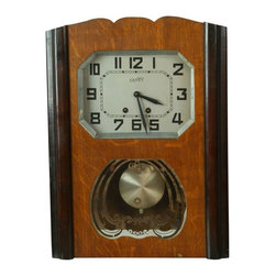 Vaney - Consigned Vintage 1950 German Regulator Wall Clock - Product Details