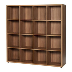 Unilin Division Panels - didit click furniture 16 Cubby Open Cabinet - 55W in. - Italian Walnut Brown - 4 - Shop for Bookcases from Hayneedle.com! Hold a library of books in modern style tucked inside the didit clic furniture 16 Cubby Open Cabinet - 55W in. - Italian Walnut. A stylish and well-built beauty this one also assembles in a snap. No screws no tools no frustration - just click together and you're done! It has 16 cubbies to give you ample storage and display space. It's made of laminate with an Italian walnut finish that lends urban charm.About UnilinUnilin for smart living. Unilin is 50-year-old company based in Belgium that is part of the American Mohawk Industries Inc. Unilin creates a variety of home products including flooring division panels and insulation. From the start they have focused on discovering ways to utilize sustainable products recycle and maximize green activities. Unilin stands for (r)evolution. They innovate by investing in design research and development and the latest technologies. Unilin aims to create top-quality home products that are as beautiful as they are convenient.