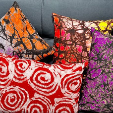 Eclectic Decorative Pillows by Divine NY & Co.