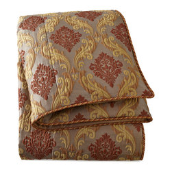 """NM EXCLUSIVE - King Medallion Scroll Duvet Cover 108"""" x 95"""" - MULTI - NM EXCLUSIVEKing Medallion Scroll Duvet Cover 108"""" x 95"""""""