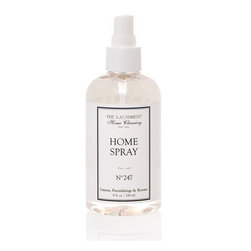 No. 247 Home Spray - Give your home the olfactory essence of cleanliness, whether you're putting a finishing sensory touch on a thorough spring cleaning or just giving a quick once-over before company comes. This simply-bottled Home Spray is fragranced with the scents most associated with cleanliness - aromas like eucalyptus with balanced hints of pine and rose.
