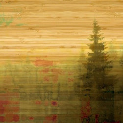 "Parvez Taj - Wall Prints - Meaford Bay - Bamboo, 24""x32"" - Natural exposure. This Parvez Taj print uses photography and software to create a peaceful waterfront scene, using ecofriendly bamboo and UV-cured inks. It's a beautiful way to enhance harmony in your environment."