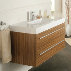 Modern Bathroom Vanities And Sink Consoles Bojano 1000mm wall hung unit