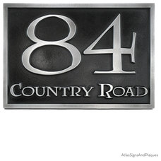 Eclectic House Numbers by Atlas Signs and Plaques
