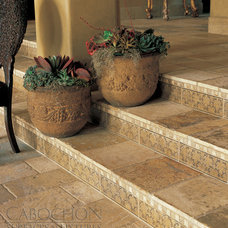 Traditional Wall And Floor Tile by Cabochon Surfaces & Fixtures