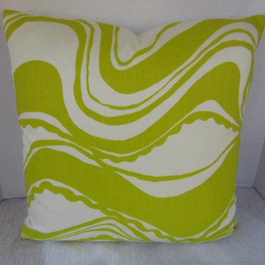Trina Turk Pillow Cover - Carmel Coastline Sulphur -