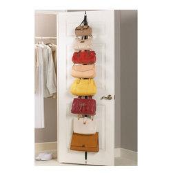 Over the Door Adjustable Purse Racks (Set of 2) -