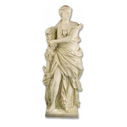 Orlandi Statuary - Resting Roman Venus Garden Statue Multicolor - F674RESTINGVENUS - Shop for Statues and Sculptures from Hayneedle.com! The Resting Roman Venus Garden Statue will bring a soothing and tranquil sentiment to your favorite garden spot. The Roman goddess of love will reward your garden with her presence and create an aura of relaxation. You're sure to appreciate the fine detailing particularly the draping of her robe. This statue is constructed from a sturdy weather-resistant fiberglass resin and is ideal for garden placement. It stands 60 inches tall to complement your garden plan.About Orlandi StatuaryBorn in 1911 when Egisto Orlandi traveled from Lucca Italy to Chicago Illinois Orlandi Statuary quickly set the standard for excellence in their industry. Egisto took great pride in his craft and reputation and which is why artists interior designers and museums relied upon the careful details and impeccable quality he demanded. Over the years they've evolved into a company supplying more than statuary. Orlandi's many collections today include fiber stone for the garden religious statuary fountains columns and pedestals. Their factory and showroom are still proudly located in Chicago where after 100 years they remain an industry icon.