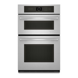 """Jenn-Air 27"""" Combination Microwave/wall Oven, Stainless Steel/Black   JMW2327WS - 1.4 CU. FT. & 3.4 CU. FT. OVENS"""