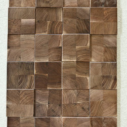 Projection Polished Wood Tiles - Jamie Beckwith Collection: Projection