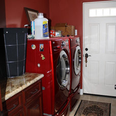 Traditional Laundry Room by Seacoast Cabinets