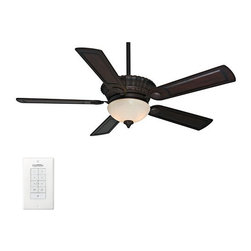 "Casablanca - Casablanca 59057 Alessandria 54"" 5 Blade Ceiling Fan - Blades and Light Kit Incl - Included Components:"