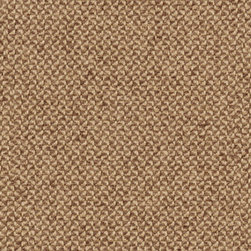 Hourglass Latte Fabric - A solid color material using boucle and chenille yarns creates a unique look and a very soft hand. Very durable and works well with many modern designs despite having a classic, tightly tailored look. This fabric has a soil and stain resistant finish that works as a soil and stain repellent.