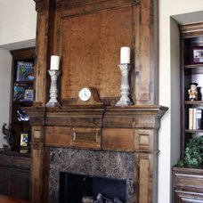 Traditional Fireplace Accessories by C&S Cabinets, Inc