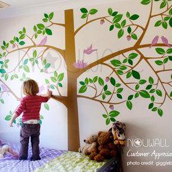 tree wall decal - giggleberry
