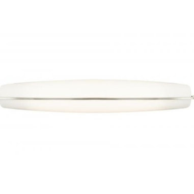 Corva Bath Bar by Tech Lighting - Corva bath bar features a white elliptical shade with a Satin Nickel, Chrome or Bronze band detail. Can be mounted horizontally or vertically.