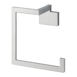 "Brizo - Brizo 694680-PC Polished Chrome Siderna Siderna Towel Ring - Product Features:Covered under Brizo s limited lifetime warrantySuperior finishing process - towel ring finish covered under lifetime warrantyCoordinates perfectly with the Siderna Bath CollectionAll necessary mounting and installation hardware includedWidth: 6""Height: 6"" HDepth (from wall): 3"""