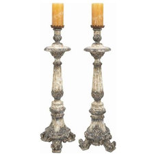 Traditional Candleholders by The Classy Cottage