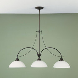 Murray Feiss - Oil Rubbed Bronze Boulevard Wrought Iron 1 Tier Chandelier - Lamping Technology: