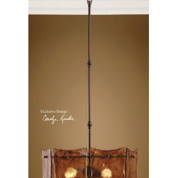 "21210 Vetraio II, 3 Lt Hanging Shade by uttermost - Get 10% discount on your first order. Coupon code: ""houzz"". Order today."