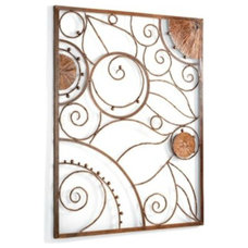 Eclectic Outdoor Decor Garden Plaque Outdoor Wall Art
