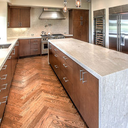 Marble Counter Tops With a Brushed Surface - Cameron DeMille