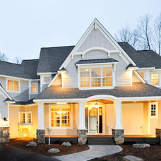 Traditional Exterior by Mark D. Williams Custom Homes Inc